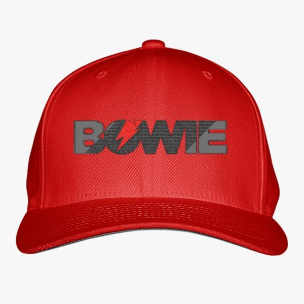 Custom Baseball Hats for Music Lovers: David Bowie