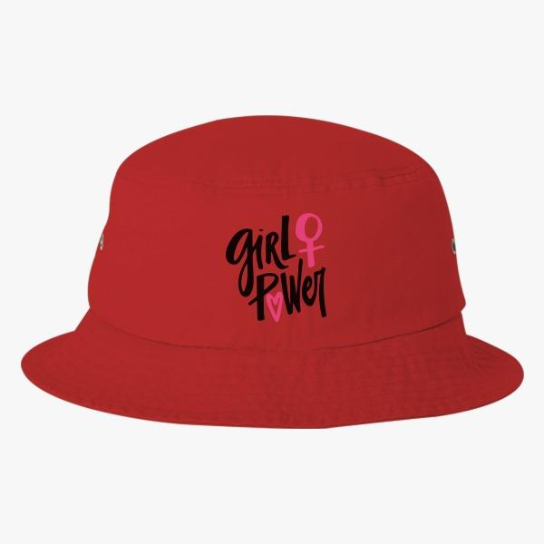 Ladies' Custom Bucket Hat Ideas: Girl Power