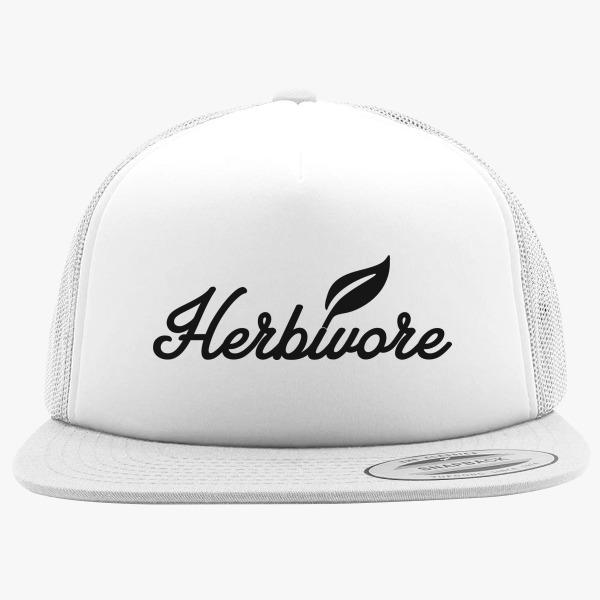 Green Foam Trucker Hats: Herbivore