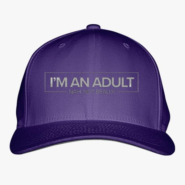 Custom Hats about Adulthood: I'm an Adult