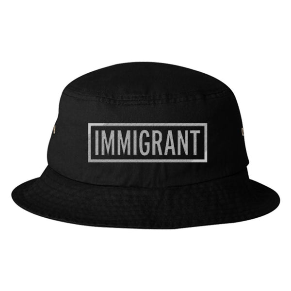Statement Bucket Hats: Immigrant