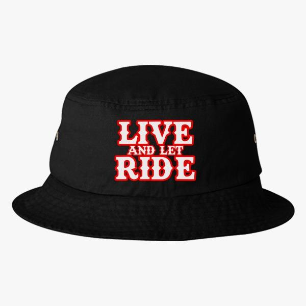 Custom Bucket Hats for Gents: Live and Let Ride