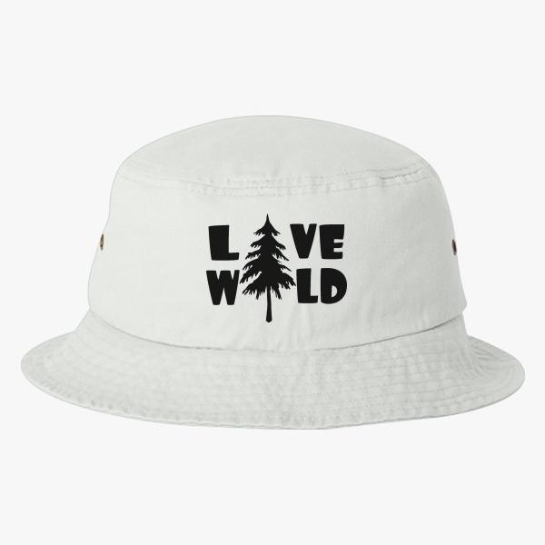 Summer Custom Bucket Hat Design Ideas: Live Wild