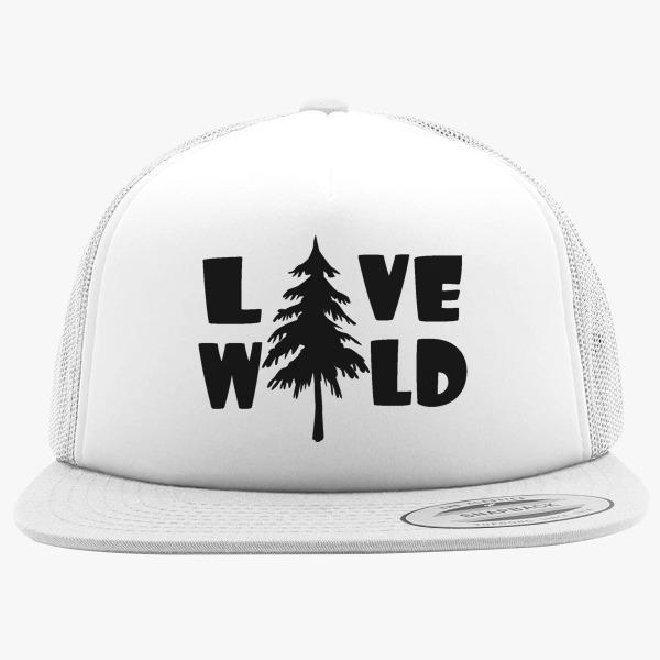 Outdoor Foam Trucker Hats: Live Wild