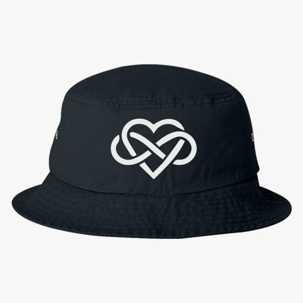 Tourist bucket hats: Love is Infinite