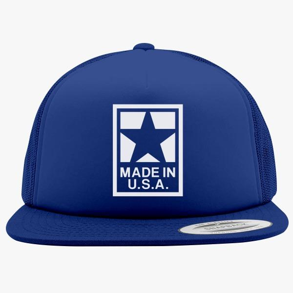 Foam Trucker Hats for Men: Made In USA