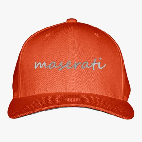 Custom Baseball Hats for Car Lovers: Maserati