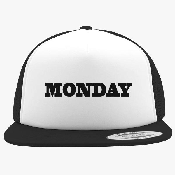 Funny Foam Trucker Hats: Monday