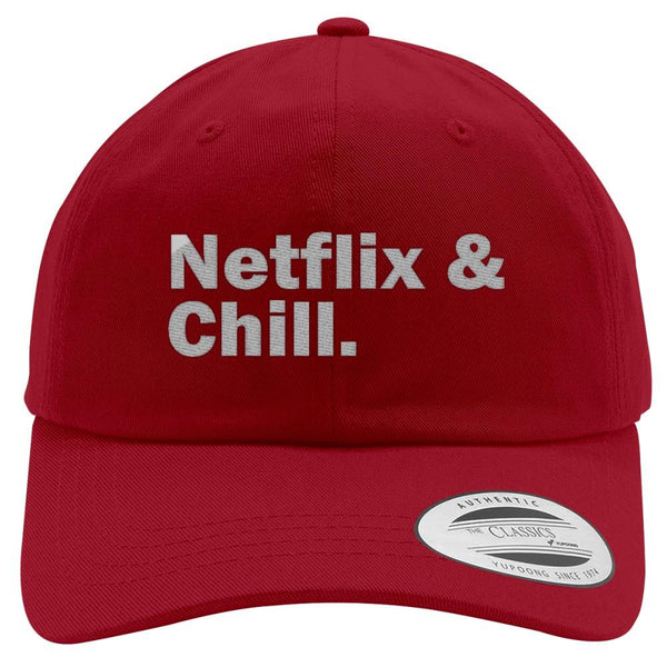 Trendy Hats with Memorable Quotes: Netflix and Chill