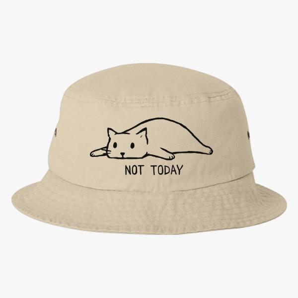 Summer Custom Bucket Hat Design Ideas: Not Today