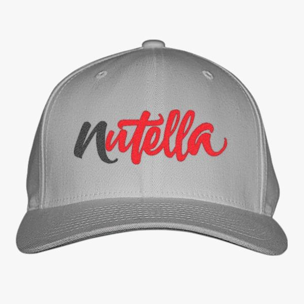 Custom Baseball Hats – Gourmet Edition: Nutella