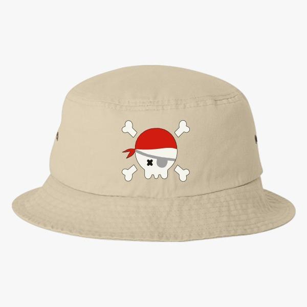Custom Bucket Hat Designs for Kids: Pirate Bucket