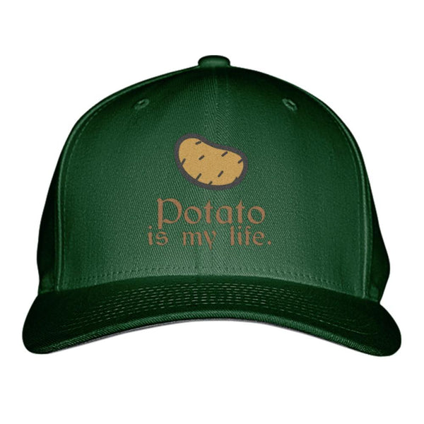 Custom Baseball Hats – Gourmet Edition: Potato is My Life