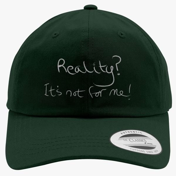 Custom Hats about Adulthood: Reality Not for Me