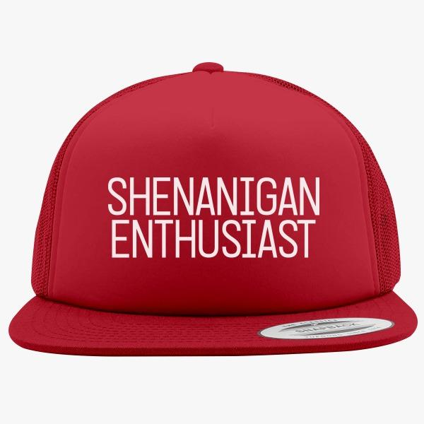 Chill-Out Custom Trucker Hats: Shenanigan Enthusiast