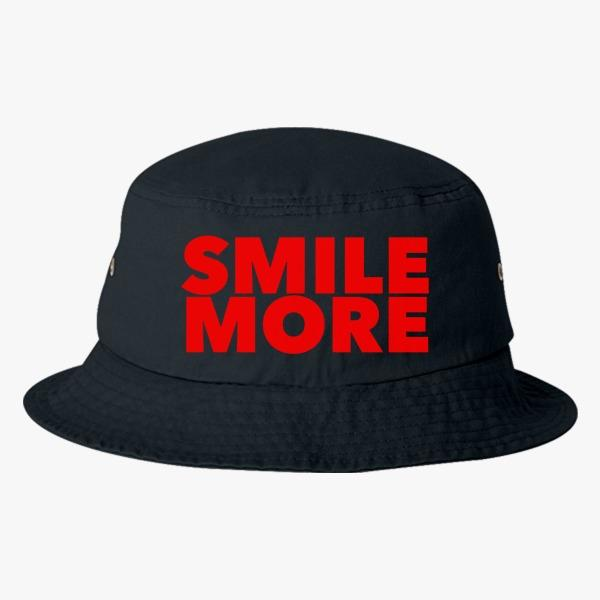 Summer Custom Bucket Hat Design Ideas: Smile More