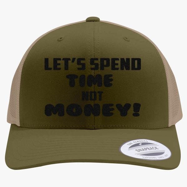 Two Kinds of Parents Custom Hats: Spend Time