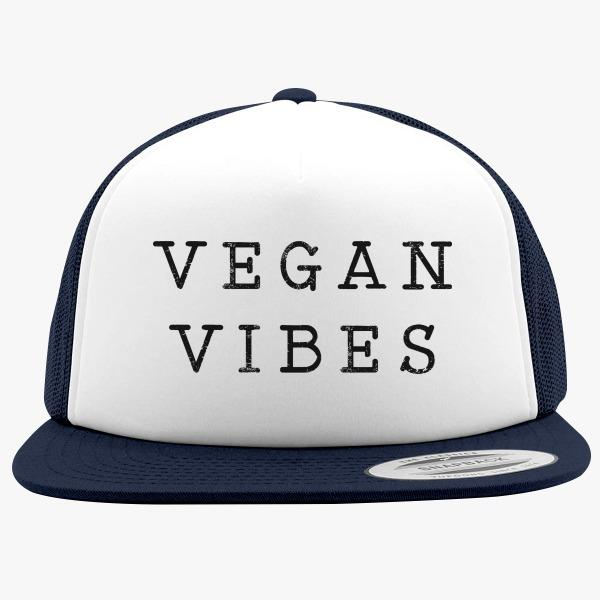 Green Foam Trucker Hats: Vegan Vibes