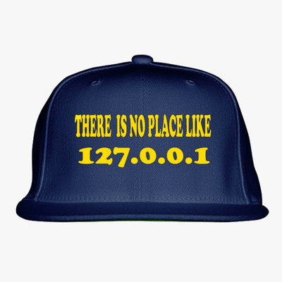 127.0.0.1 Clothing Embroidered Snapback Hat