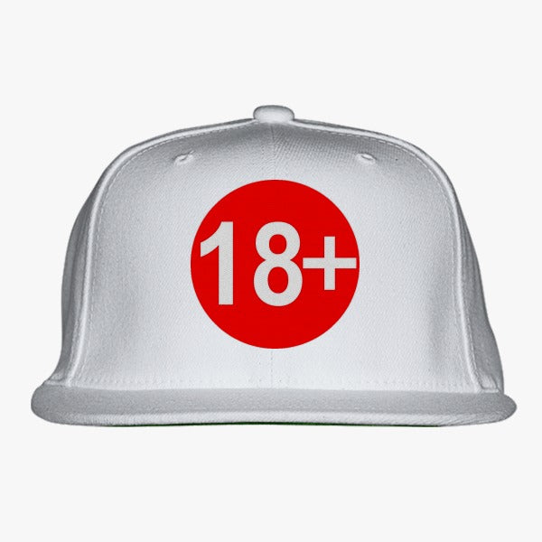 18  Embroidered Snapback Hat