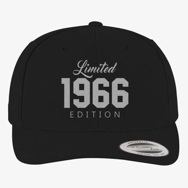 1966 Limited Edition Birthday Brushed Embroidered Cotton Twill Hat