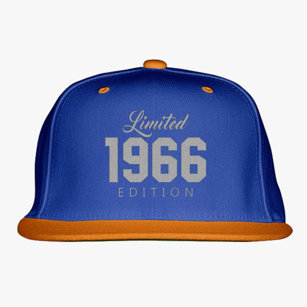 1966 Limited Edition Birthday Embroidered Snapback Hat