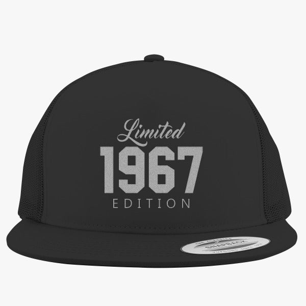 1967 Limited Edition Birthday Embroidered Trucker Hat
