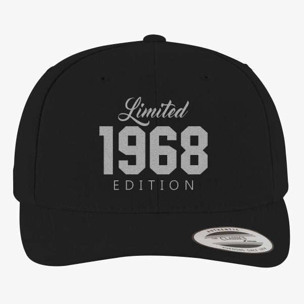 1968 Limited Edition Birthday Brushed Embroidered Cotton Twill Hat