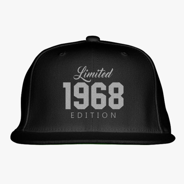 1968 Limited Edition Birthday Embroidered Snapback Hat
