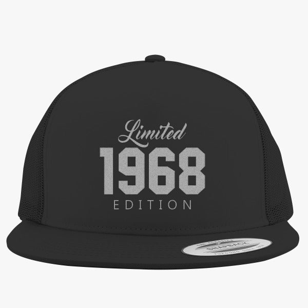 1968 Limited Edition Birthday Embroidered Trucker Hat