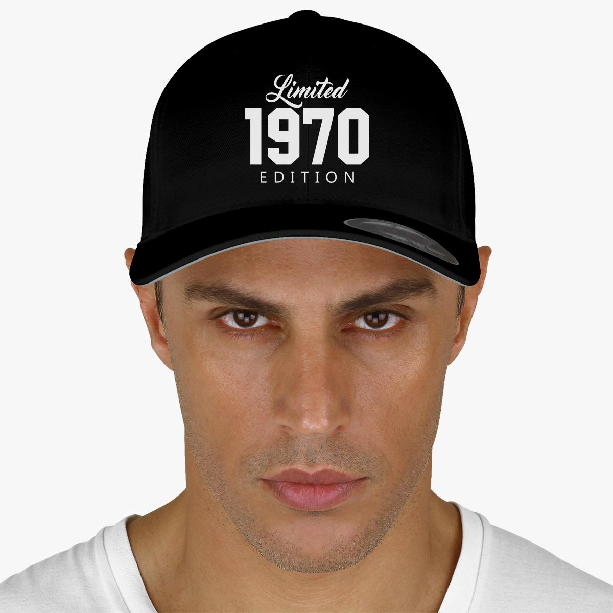 1970 Limited Edition Birthday Embroidered Baseball Cap