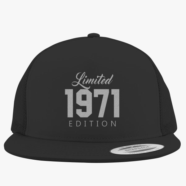 1971 Limited Edition Birthday Embroidered Trucker Hat