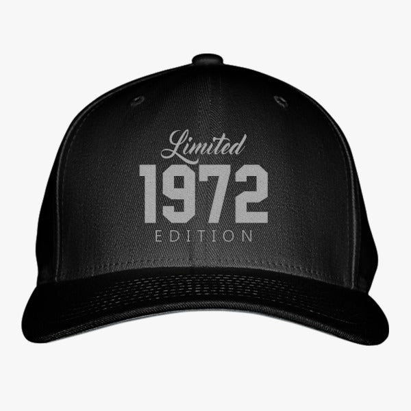 1972 Limited Edition Birthday Embroidered Baseball Cap