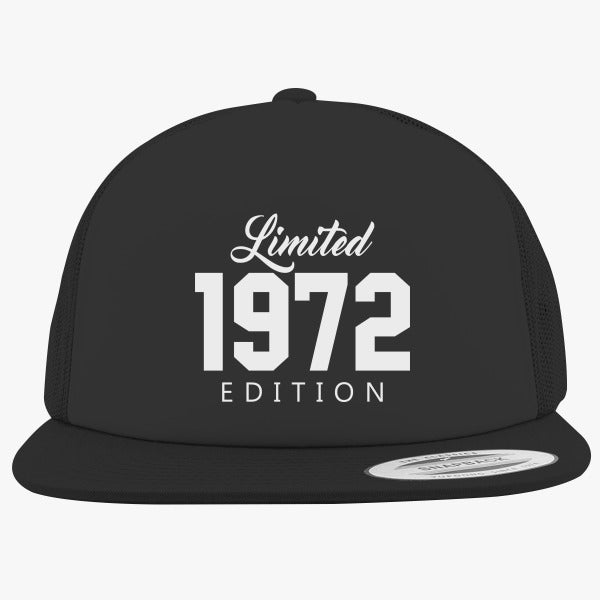 1972 Limited Edition Birthday Foam Trucker Hat