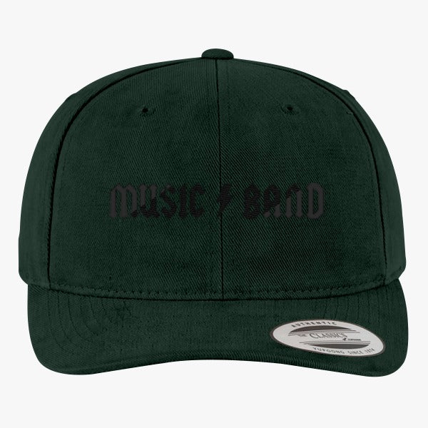 30 Rock - Music Band  Brushed Embroidered Cotton Twill Hat
