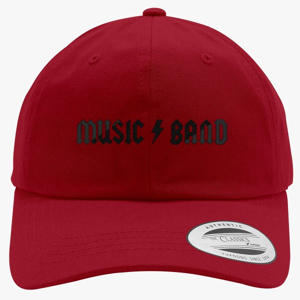 30 Rock - Music Band  Embroidered Cotton Twill Hat