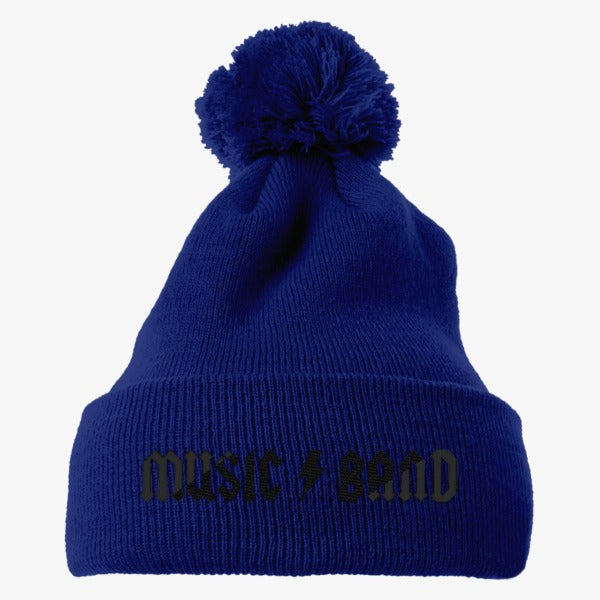 30 Rock - Music Band  Embroidered Knit Pom Cap