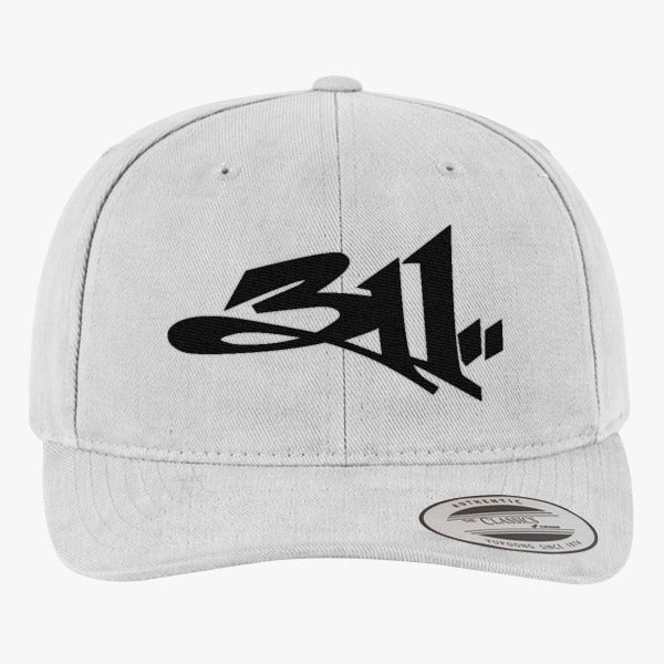 311 Brushed Embroidered Cotton Twill Hat