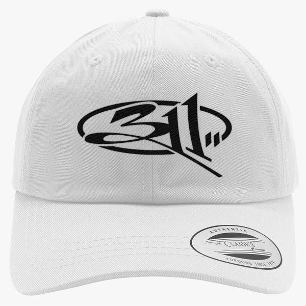 311 Embroidered Cotton Twill Hat
