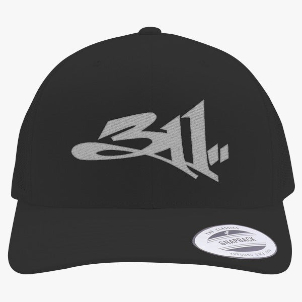 311 Embroidered Retro Embroidered Trucker Hat