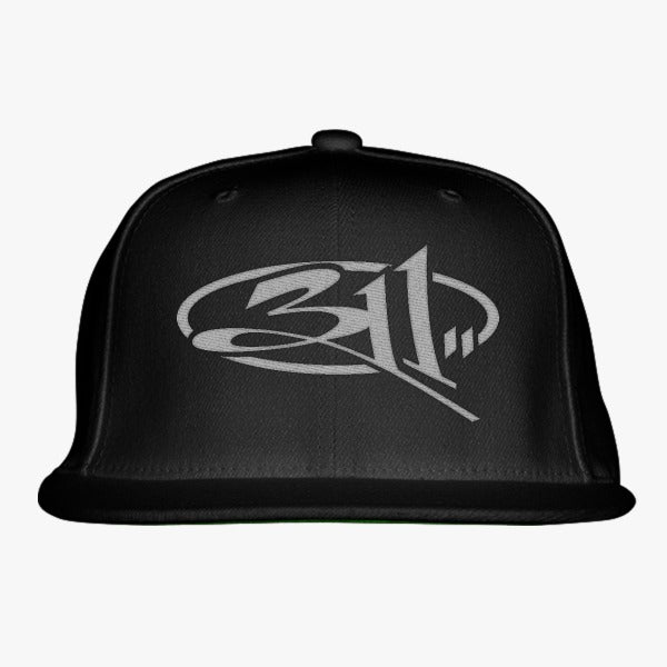 311 Embroidered Snapback Hat