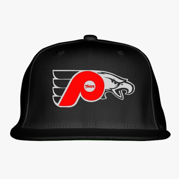 76ers Phillies Flyers Eagles Embroidered Snapback Hat