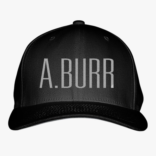 A. Burr Embroidered Baseball Cap