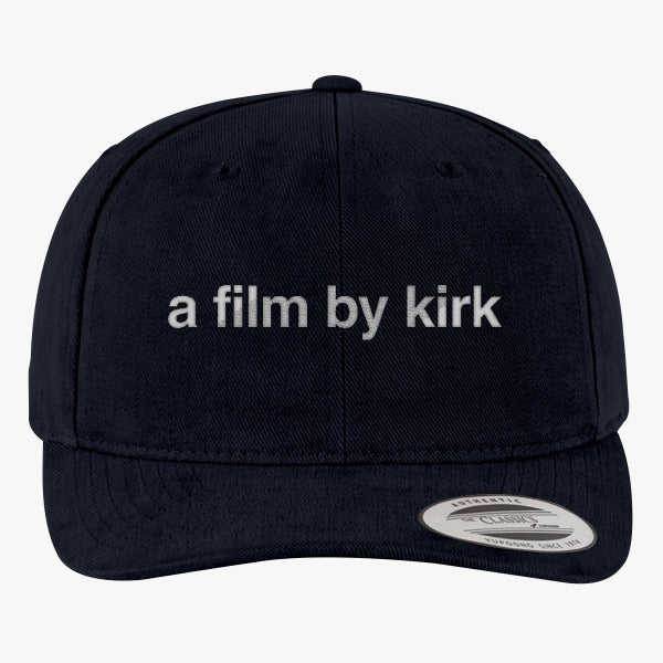 A Film By Kirk - Gilmore Girls Reboot  Brushed Embroidered Cotton Twill Hat