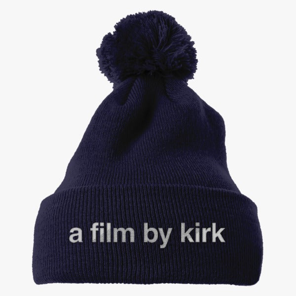 A Film By Kirk - Gilmore Girls Reboot  Embroidered Knit Pom Cap