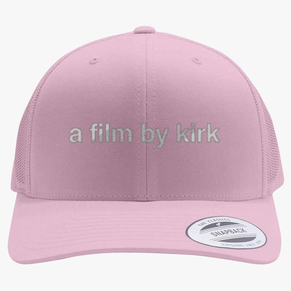 A Film By Kirk - Gilmore Girls Reboot  Embroidered Retro Embroidered Trucker Hat