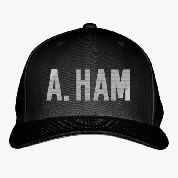 A. Ham Embroidered Baseball Cap