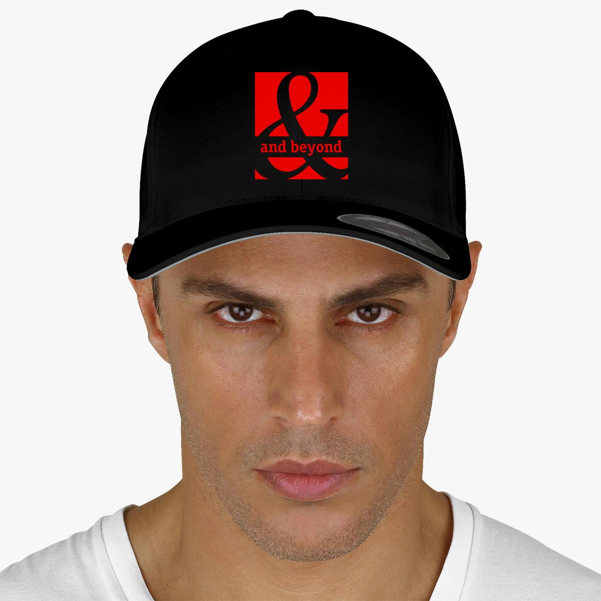 Above  And Beyond Embroidered Baseball Cap