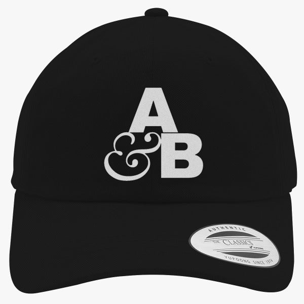 Above And Beyond Embroidered Cotton Twill Hat