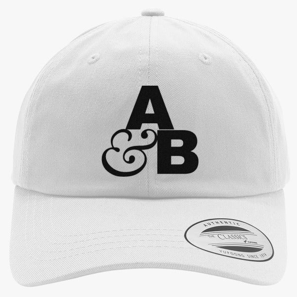 Above And Beyond Logo Embroidered Cotton Twill Hat
